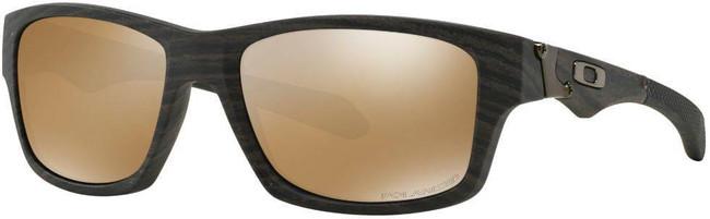 Oakley Jupiter Squared Woodgrain Sunglasses with Tungsten Iridium Polarized Lenses OO9135-0756