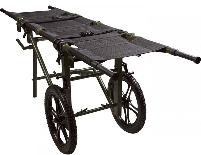 North American Rescue Wheeled Litter Carrier With Case 60-0063