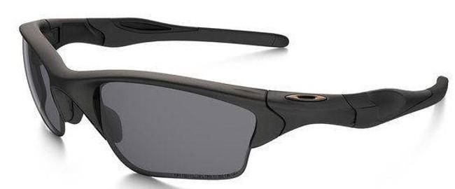 Oakley SI Half Jacket 2.0 XL - Matte Black with Grey Polarized Lenses OO9154-13 700285568713