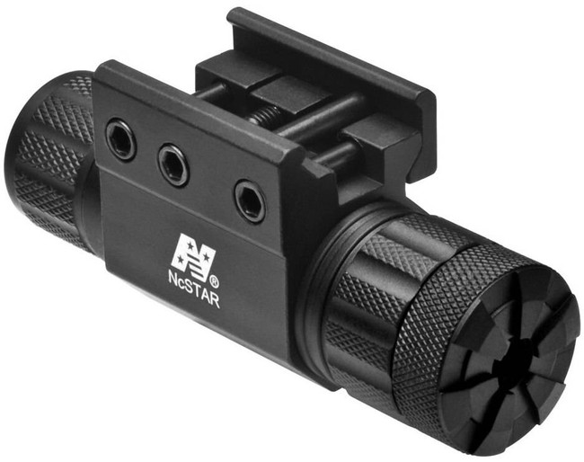 NcSTAR Green Laser Sight with Mount and Switch APRLSMG 814108015176