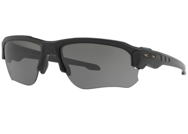 Oakley SI Speed Jacket Matte Black Glasses with Grey Lenses OO9228-01 888392229298