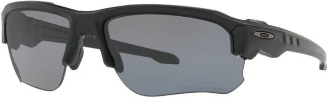 Oakley SI Speed Jacket Matte Black Sunglasses with Grey Polarized Lenses OO9228-02 888392229304