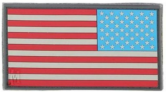 """Maxpedition US1R Reverse USA Flag Patch - Small - 2""""x1"""""""
