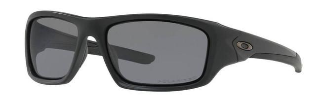 Oakley SI Valve Matte Black Sunglasses with Grey Polarized Lenses OO9236-09 700285879574