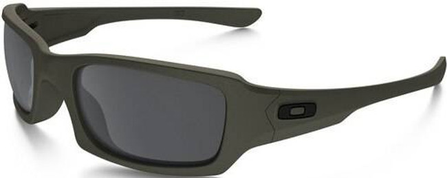 Oakley SI Fives Squared Cerakote Cobalt Sunglasses with Black Iridium Lenses OO9238-2254 888392259523