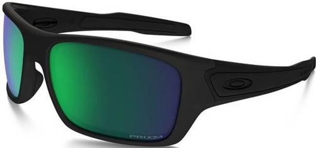 Oakley SI Turbine Matte Black Sunglasses with Priz OO9263-3863 888392259400