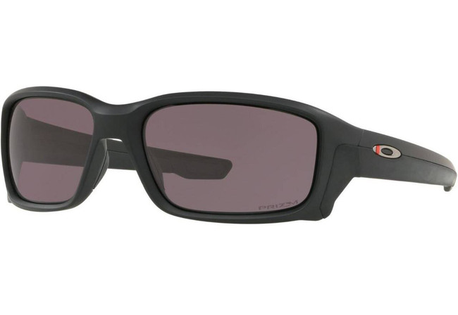 Oakley SI Straightlink Thin Red Line Matte Black Sunglasses with PRIZM Grey Lenses OO9331-1958 888392326744