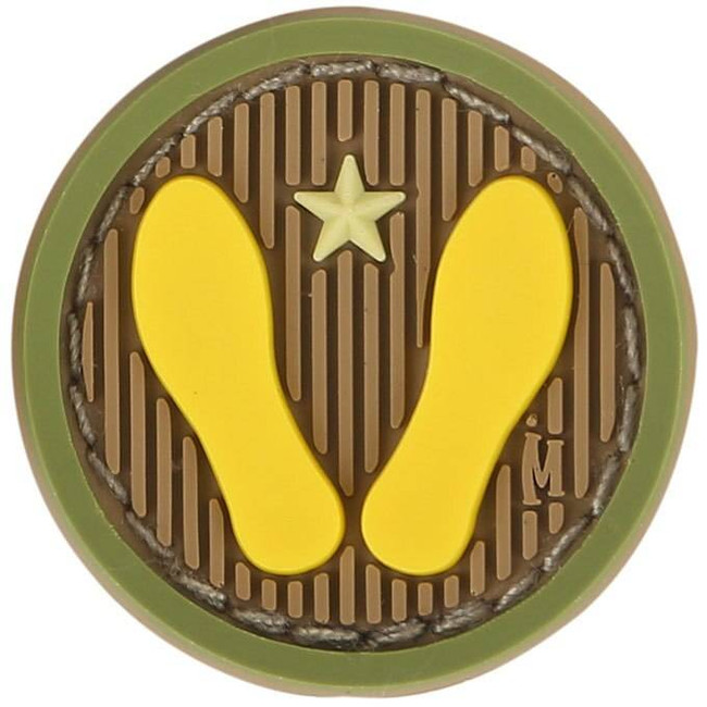 Maxpedition Yellow Footprints Patch YWFT