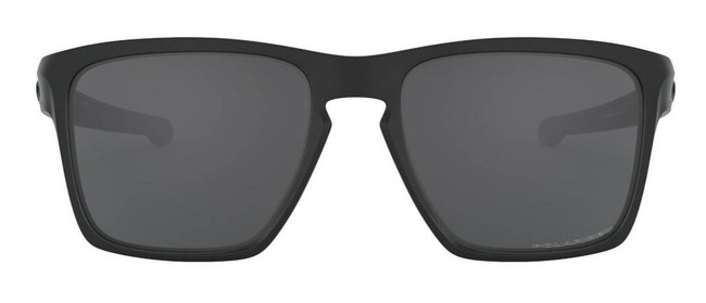 Oakley Sliver XL Black Sunglasses with Grey Polarized Lenses OO9341-01 888392214829