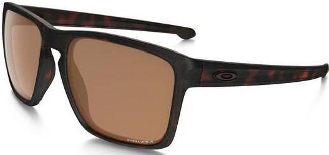 Oakley SI Sliver XL Matte Tortoise Sunglasses with Prizm Tungsten Polarized Lenses OO9341-10 888392235893