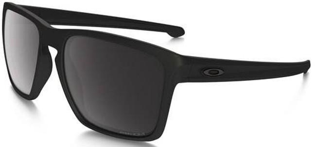 Oakley Sliver XL Matte Black Sunglasses with Prizm Black Polarized Lenses OO9341-1557 888392260130