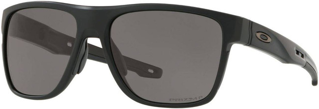 Oakley SI Crossrange XL Matte Black Sunglasses with PRIZM Grey Polarized Lenses OO9360-1658 888392384003