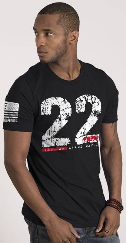 Nine Line 22 A Day Mens T-Shirt 22DAY-TS