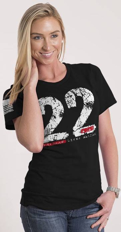 Nine Line 22 A Day Womens Relaxed Fit T-Shirt 22DAY-WRTS