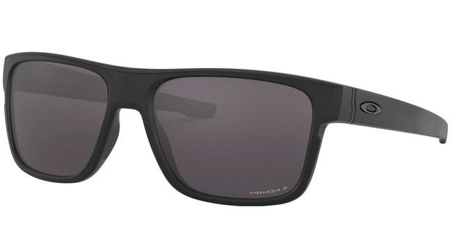 Oakley SI Crossrange Matte Black Sunglasses with PRIZM Grey Polarized Lenses OO9361-2057 888392383945