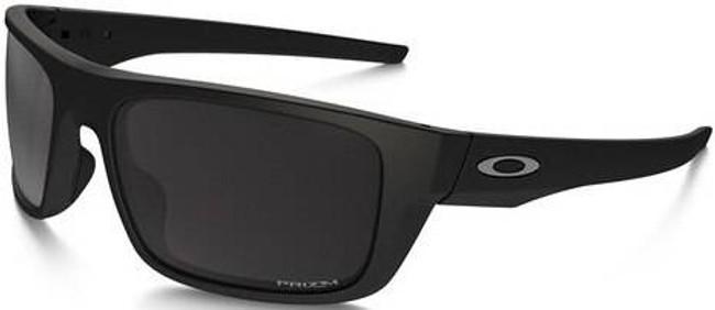 Oakley Drop Point Matte Black Sunglasses with Priz OO9367-0860
