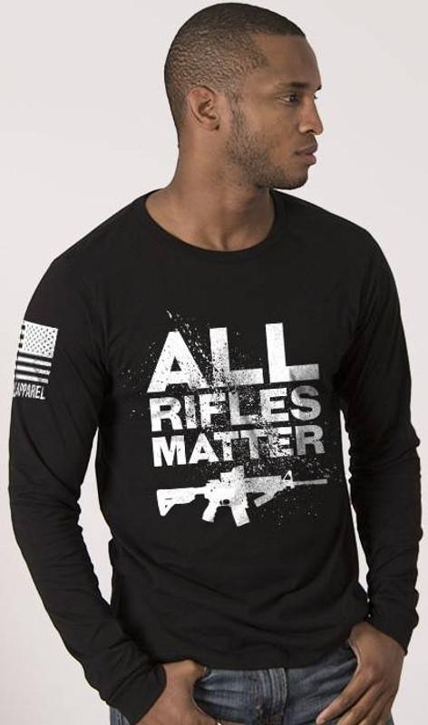 Nine Line All Rifles Matter Mens Long Sleeve Shirt ARM-LS