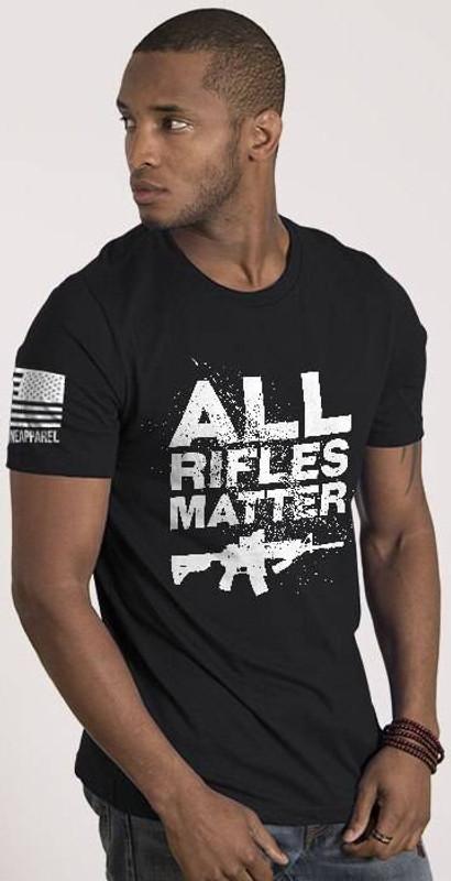 Nine Line All Rifles Matter Mens T-Shirt ARM-TS