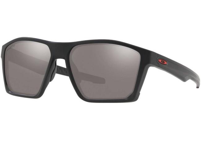 Oakley SI Targetline Matte Black Sunglasses Red Icon with PRIZM Black Lenses OO9397-1258 888392383778
