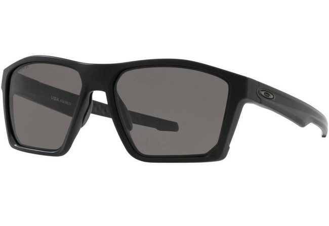 Oakley SI Targetline Matte Black Sunglasses with PRIZM Grey Polarized Lenses OO9397-1458 888392383792