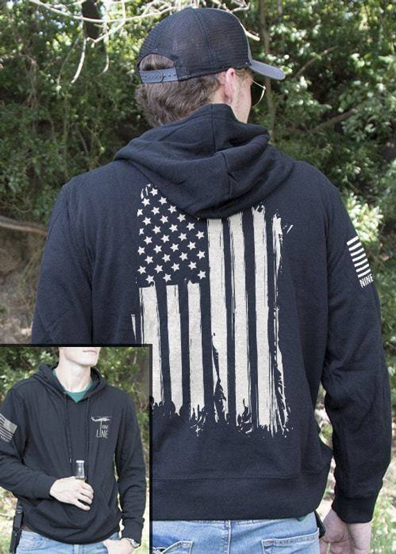Nine Line America Light Weight Tailgater Hoodie AMERICA-LWTGS