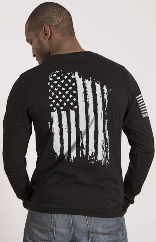 Nine Line America Mens Long Sleeve Shirt AMERICA-LS