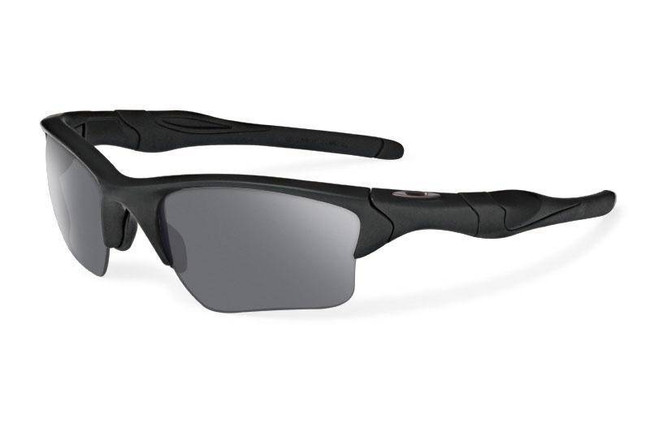 Oakley SI Half Jacket 2.0 XL - Matte Black Frame & Grey Lens OO9154-12
