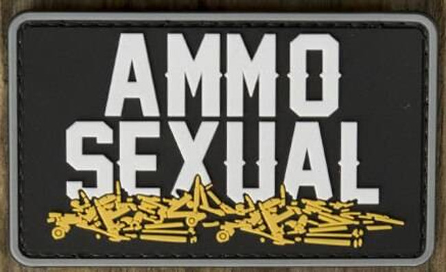 Nine Line Ammo Sexual PVC Patch PVC-AMMO 190741429830