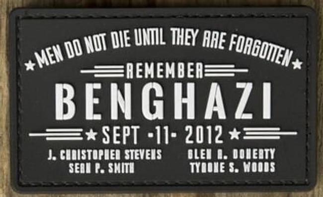 Nine Line Benghazi PVC Patch PVC-BENGHAZI 190741429847