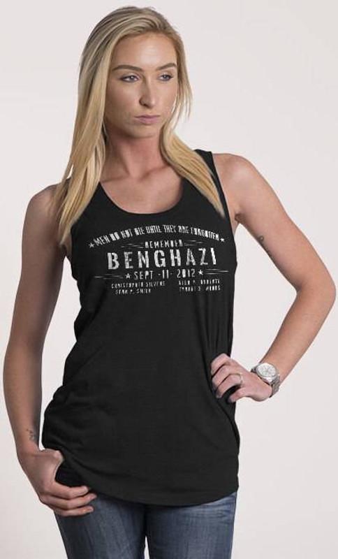 Nine Line Benghazi Womens Racerback Tank BENGHAZI-WTT