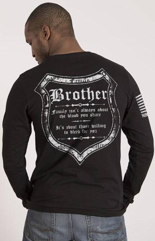 Nine Line Blood and Family Mens Long Sleeve Shirt BLOODFAM-LS
