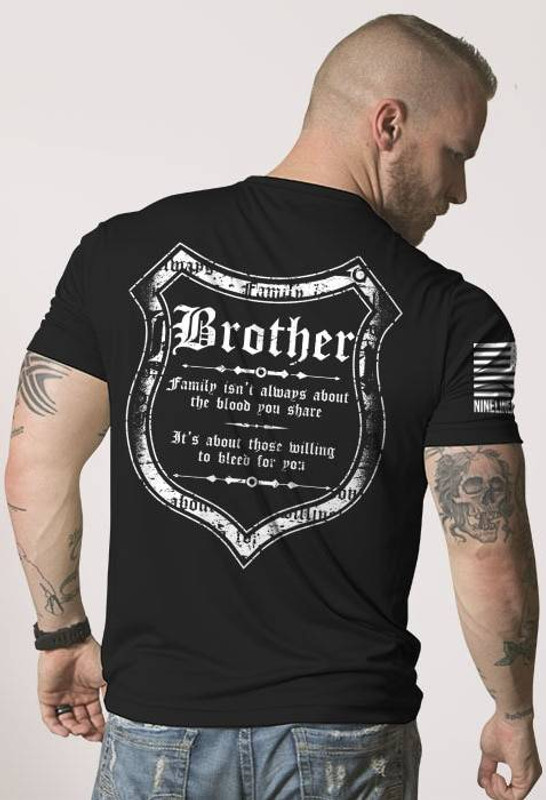 Nine Line Blood and Family Mens Moisture Wicking T-Shirt BLOODFAM-MW