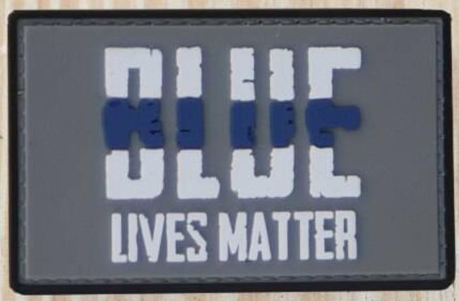 Nine Line Blue Lives Matter PVC Patch PVC-BLM 190741429854
