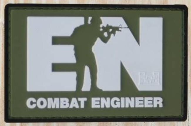 Nine Line Combat Engineer PVC Patch PVC-ENGINEER 190741429885