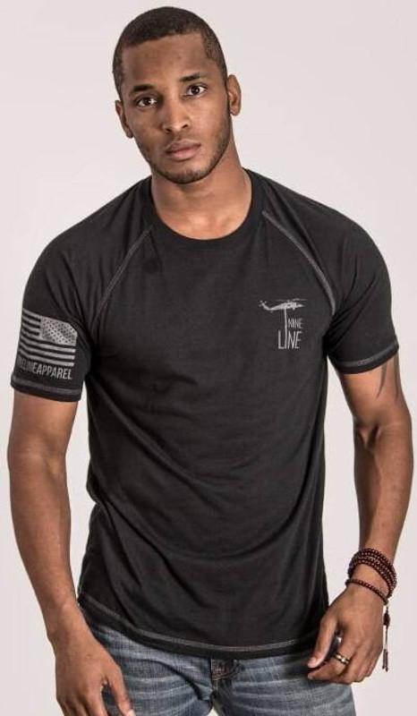 Nine Line Drop Line Dri-Fit T-Shirt FLAGDROP-DFT