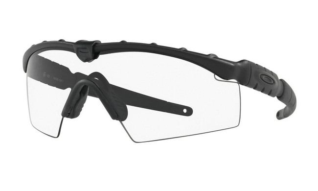 Oakley SI Ballistic M Frame 2.0 Matte Black Sunglasses with Prizm Grey/Clear Array Lenses OO9213-06