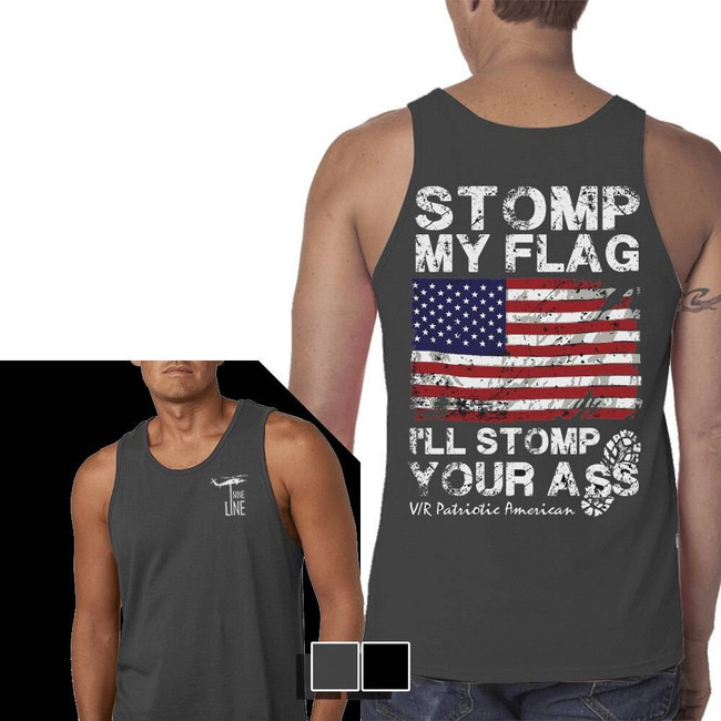 Nine Line Ill Stomp You Jersey Tank STOMP-MTT