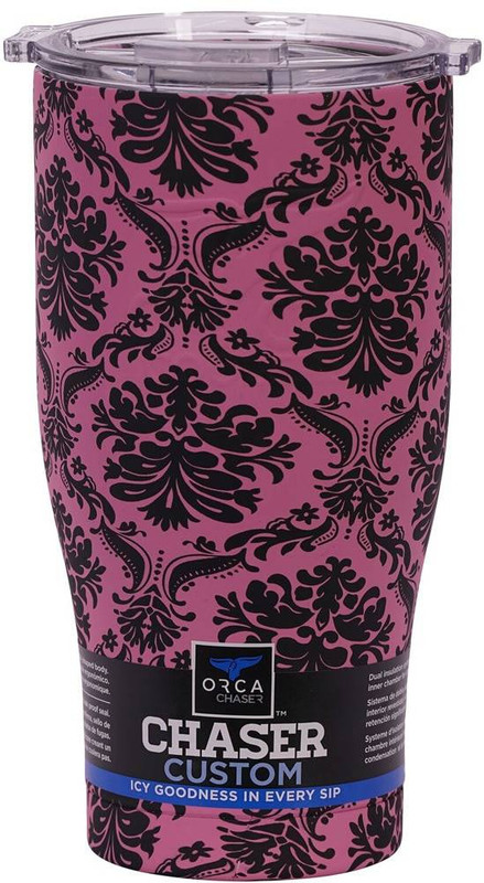 Orca Damask Pink/Clear Chaser ORCCHA27DAPI-CL 818872021494