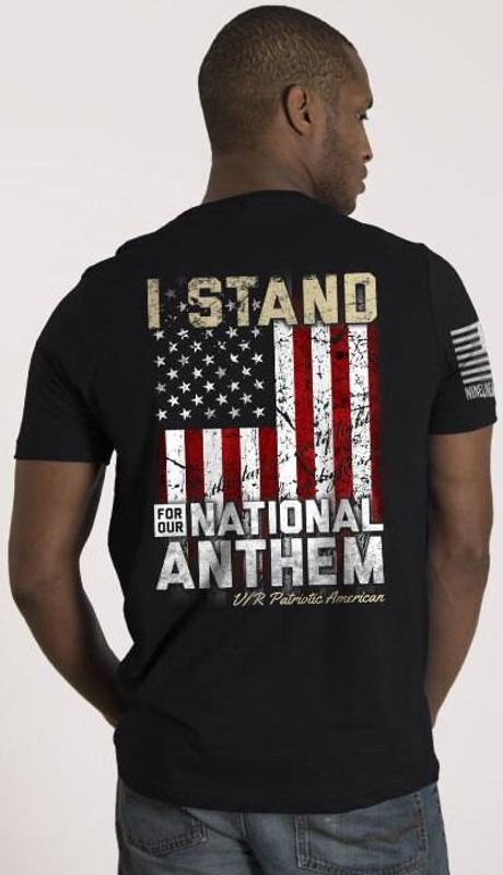 Nine Line I Stand Mens T-Shirt STANDV2-TS