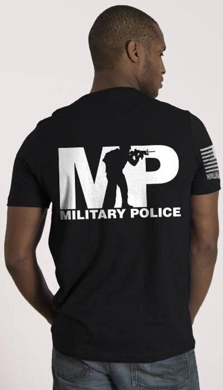 Nine Line Military Police Mens T-Shirt MP-TS