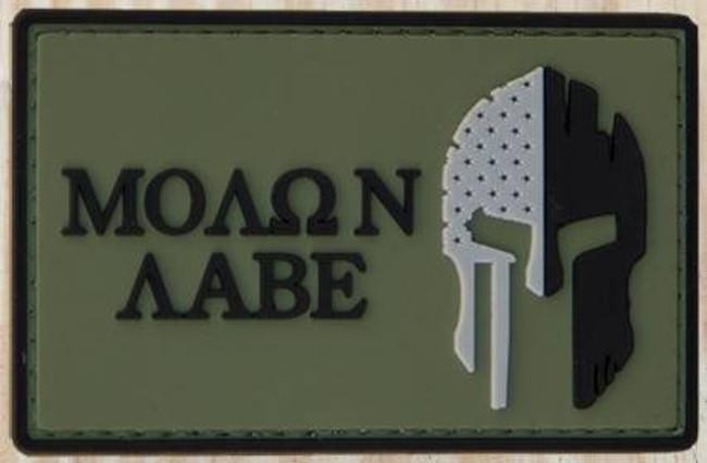 Nine Line Molon Labe PVC Patch PVC-MOLONLABE 190741429922