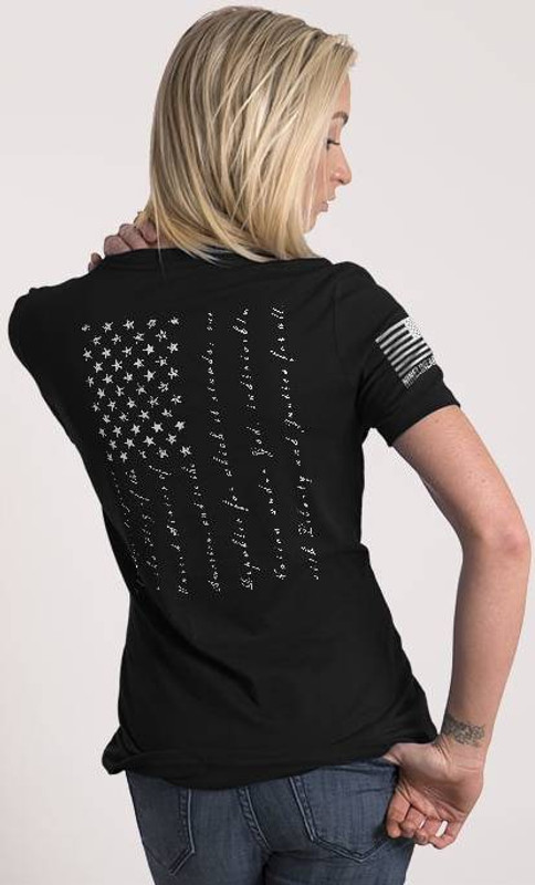 Nine Line Pledge Womens Relaxed Fit T-Shirt PLEDGE-WRTS