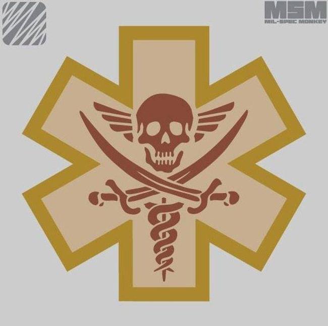 Mil-Spec Monkey Medical Pirate Patch MEDPIRATE