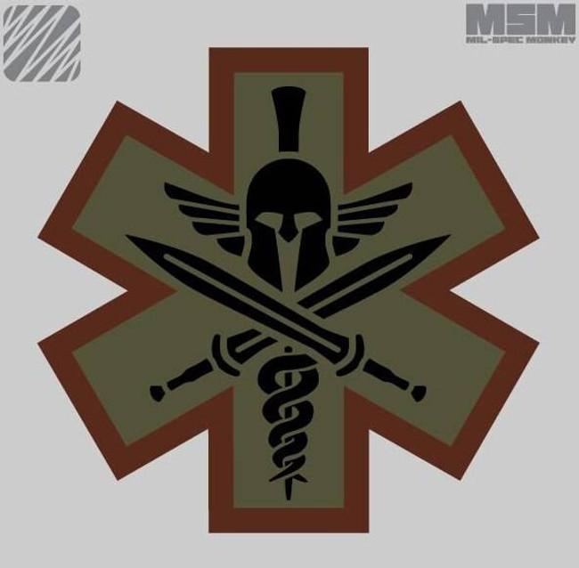Mil-Spec Monkey Medical Spartan Patch MEDSPARTAN