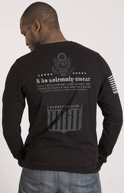 Nine Line The Oath Mens Long Sleeve Shirt OATH-LS