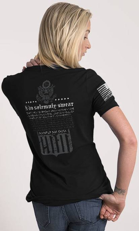 Nine Line The Oath Womens Relaxed Fit T-Shirt OATH-WRTS