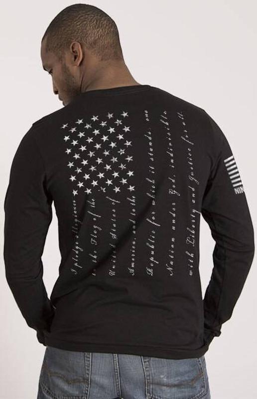 Nine Line The Pledge Mens Long Sleeve Shirt PLEDGE-LS