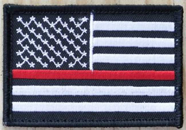 Nine Line Thin Red Line Patch TRLBWPATCH 190741438924