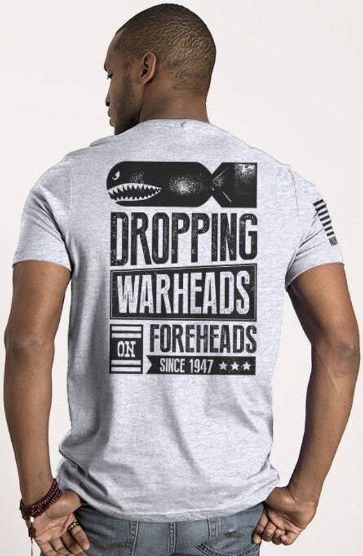 Nine Line Warheads on Foreheads Mens T-Shirt WARHEAD-TS