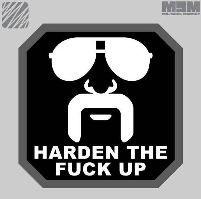 Mil-Spec Monkey Harden Up Patch HARDENUP